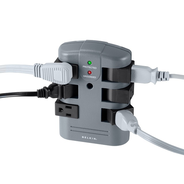 in 6-Outlet Pivot-Plug